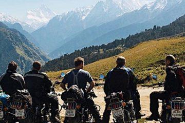 Se det beste av Himalaya på motorsykkel