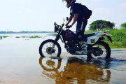Motorsykkel på Sri Lanka