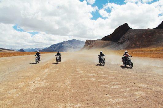 Motorsykkeltur i Himalaya
